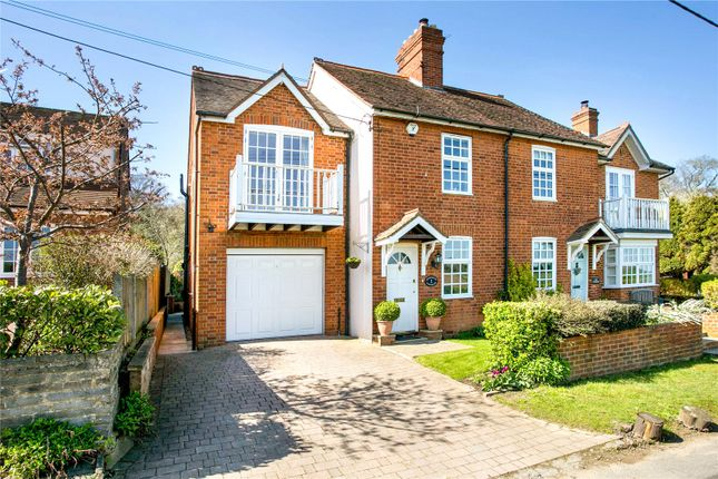 Thumbnail Semi-detached house for sale in Highwood Cottages, Grubwood Lane, Cookham, Maidenhead