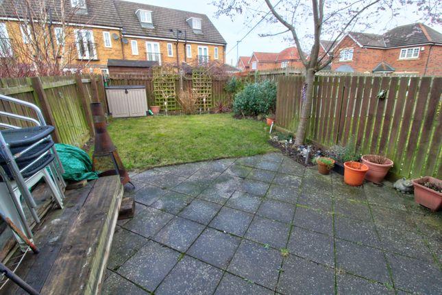 Rear Garden of Rennison Mews, Blaydon-On-Tyne NE21