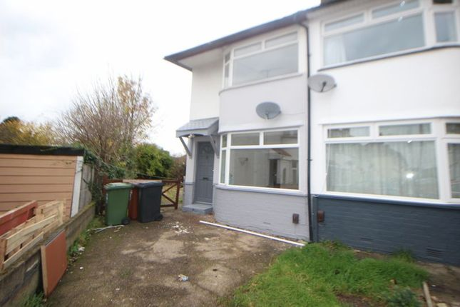 Thumbnail End terrace house to rent in Lewins Way, Slough