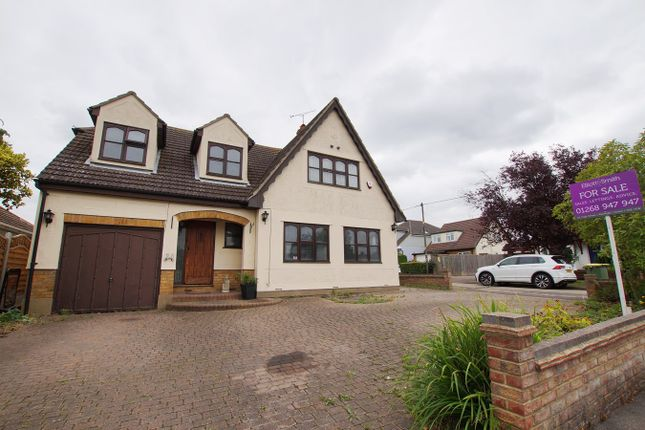 Thumbnail Detached house for sale in Leonard Drive, Rayleigh