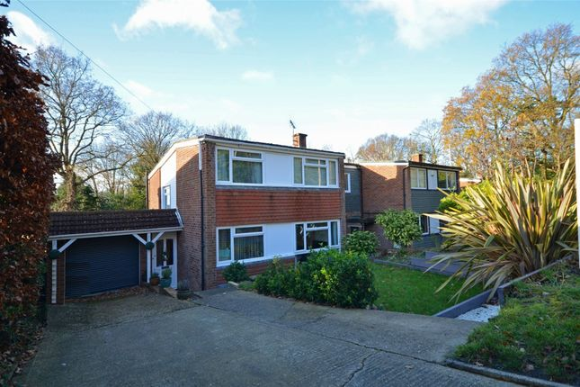 Thumbnail Detached house for sale in Connop Way, Frimley, Camberley, Surrey