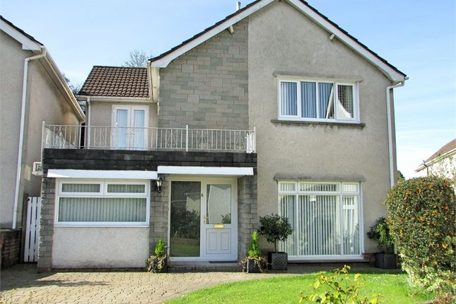 Thumbnail Detached house for sale in Trenewydd Rise, Cimla, Neath, West Glamorgan