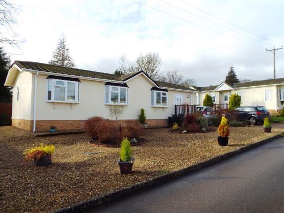 Thumbnail Mobile/park home for sale in Lodge Park, Langham, Oakham, Rutland