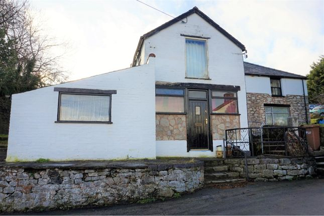 Thumbnail Detached house for sale in Milwr, Holywell