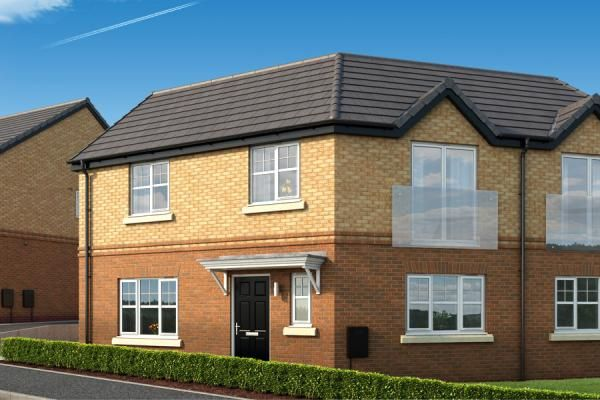 "Thumbnail Property for sale in ""The Moulton At The Woodlands"" at Newbury Road, Skelmersdale"