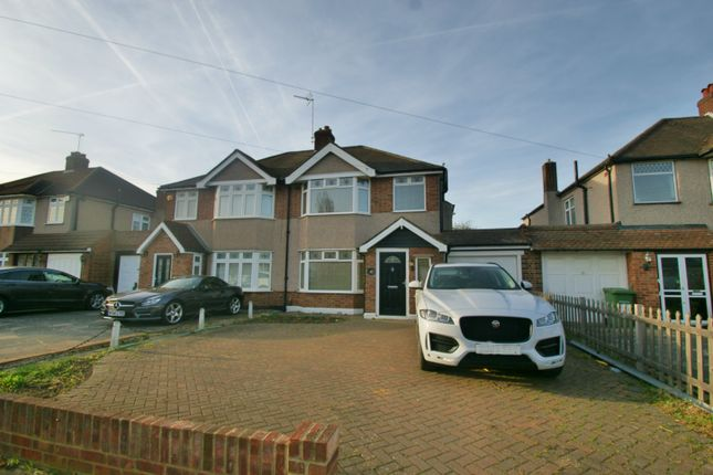 Thumbnail 3 bedroom semi-detached house to rent in Beauly Way, Romford