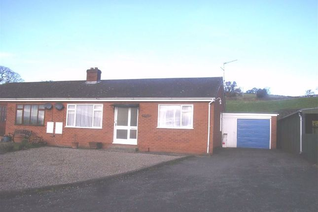 Thumbnail Bungalow to rent in 6, Oakfields, Llansantffraid, Powys