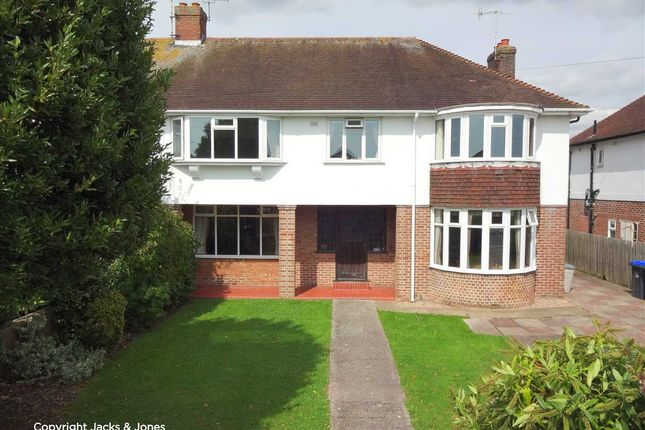 Thumbnail Semi-detached house for sale in Goring Road, Worthing