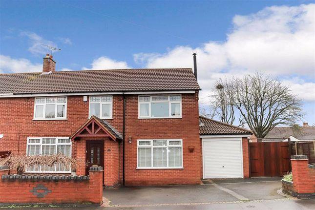 Thumbnail Semi-detached house for sale in Church Lane, Nuneaton