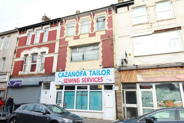 Thumbnail Maisonette for sale in Commercial Road, Newport