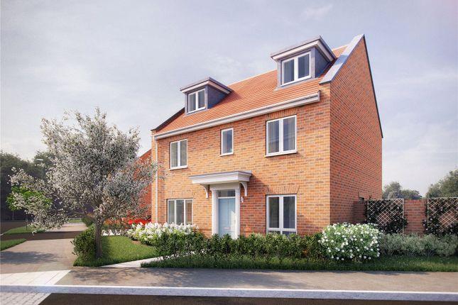 Thumbnail Detached house for sale in Pembers Hill Farm, Mortimers Lane, Fair Oak, Eastleigh