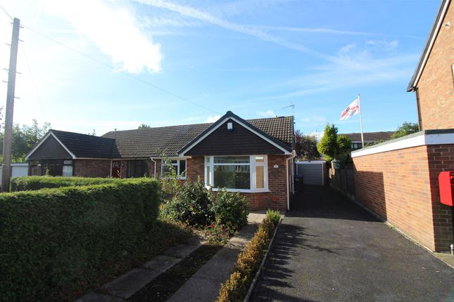 Thumbnail Semi-detached bungalow for sale in Limewood Close, Blythe Bridge, Stoke-On-Trent