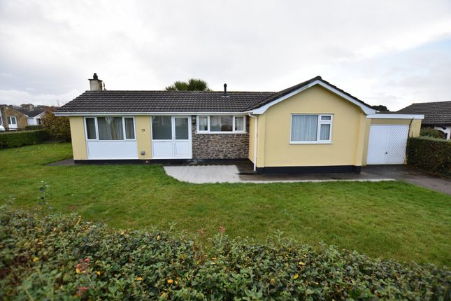 Thumbnail Detached bungalow for sale in Roseland Park, Camborne, Cornwall