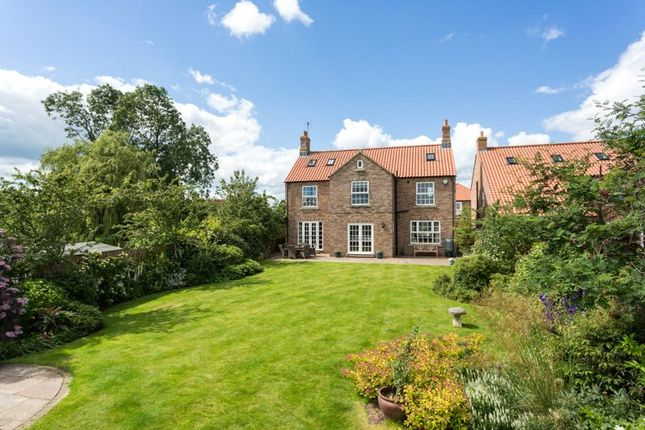 Thumbnail Detached house for sale in Hall Farm Court, Long Marston, York, North Yorkshire