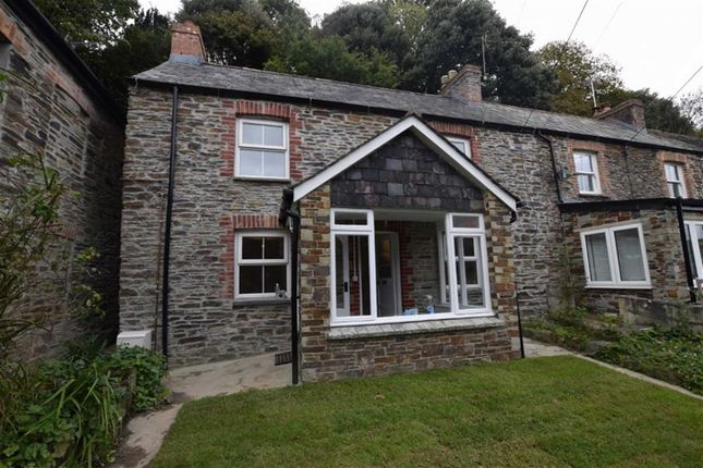 Thumbnail End terrace house to rent in Little Petherick, Wadebridge