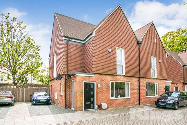 Thumbnail Semi-detached house for sale in Spring Gardens, Burdett Road, Tunbridge Wells