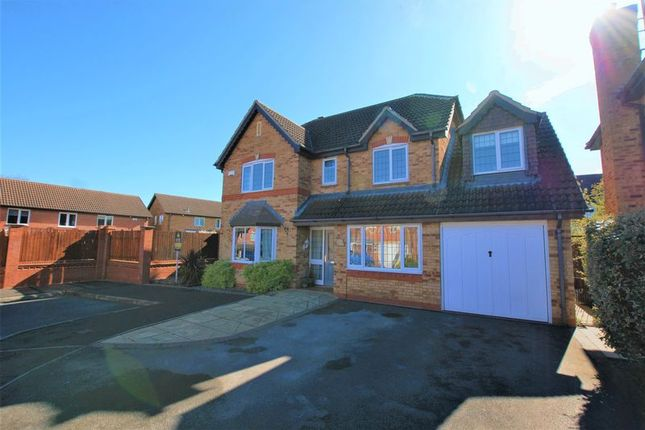 Thumbnail Detached house for sale in Demontfort Way, Uttoxeter