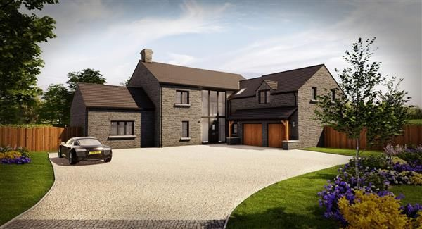 Thumbnail Detached house for sale in The Southerndown, Priory Gardens, Abbey Road, Ewenny, The Vale