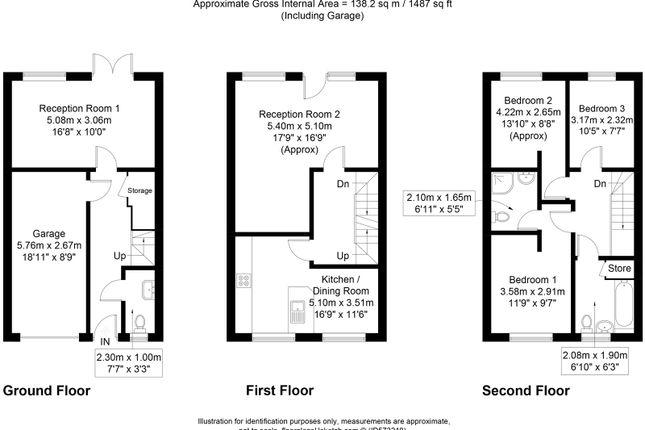 Floorplan of Mill Gardens, Great Harwood, Blackburn, Lancashire BB6