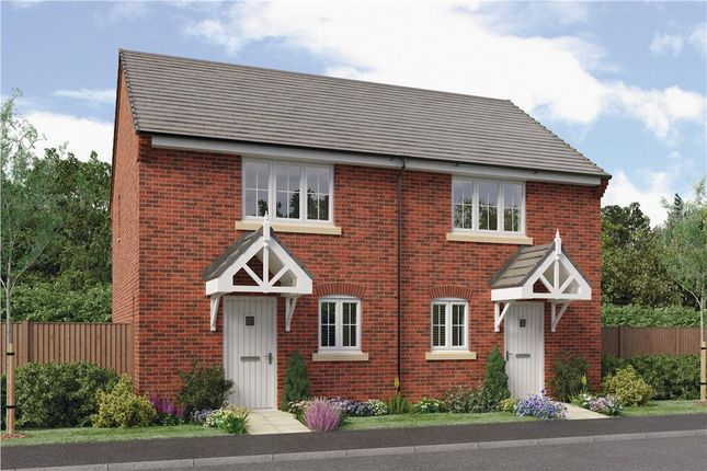 "Thumbnail Semi-detached house for sale in ""Hopton"" at Copcut Lane, Copcut, Droitwich"