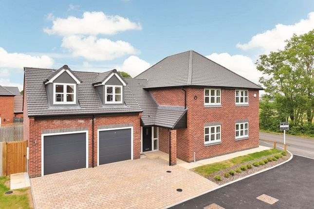 Thumbnail Detached house for sale in Nailstone Road, Carlton, Nuneaton