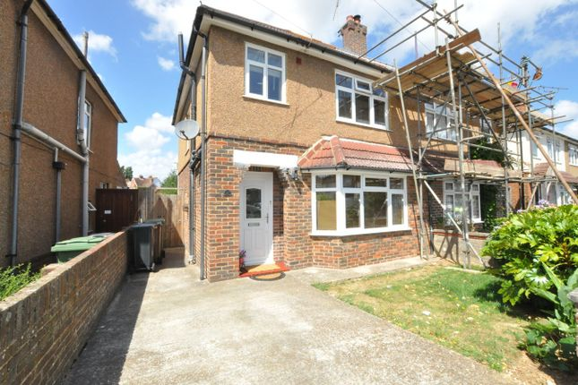 Thumbnail Semi-detached house for sale in Downlands Avenue, Bexhill-On-Sea
