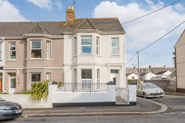Thumbnail End terrace house for sale in North Road, Torpoint, Cornwall
