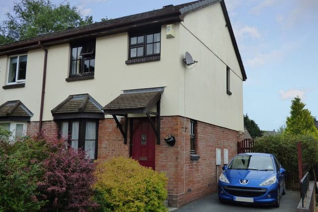 Thumbnail Semi-detached house for sale in Deacons Green, Tavistock