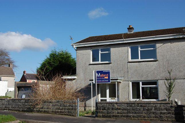 Thumbnail Semi-detached house for sale in Ger-Yr-Afon, Glanamman, Ammanford