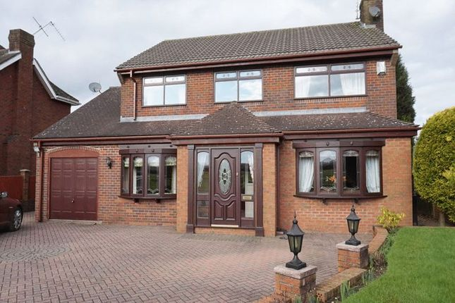 Thumbnail Detached house for sale in Chatteris Close, Meir Park, Stoke-On-Trent, Staffordshire