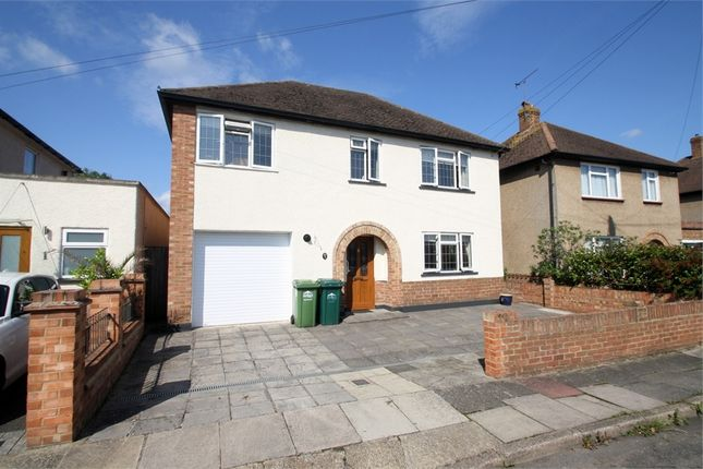 Thumbnail Detached house for sale in Fontmell Close, Ashford, Surrey