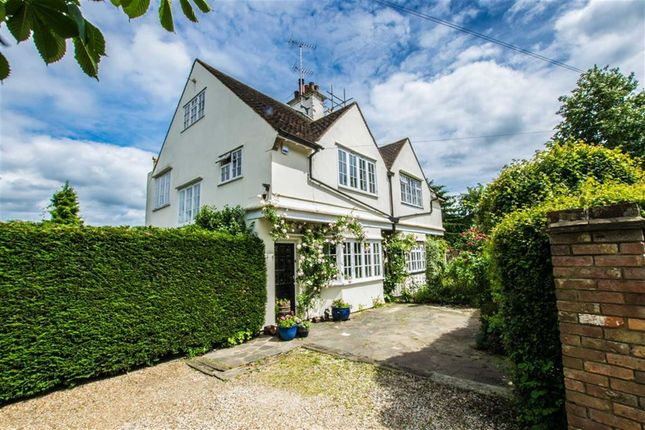 Thumbnail Semi-detached house for sale in High Road, Essendon, Hertfordshire