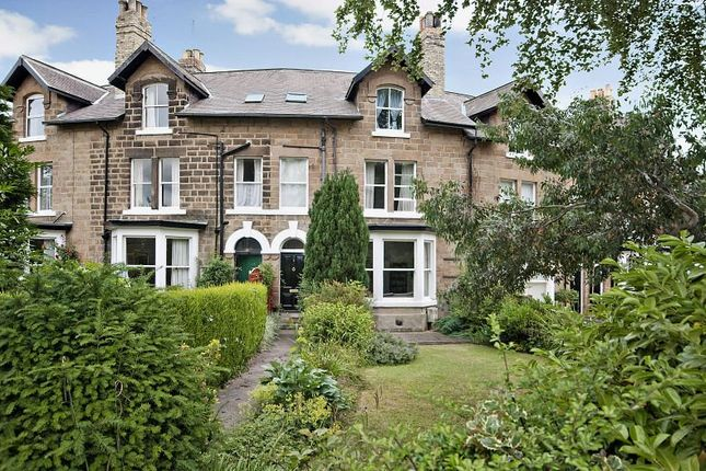 Thumbnail Terraced house to rent in Beechwood Crescent, Harrogate