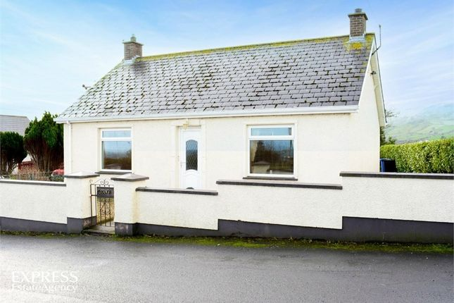 Thumbnail Detached bungalow for sale in Gortnagory Road, Carnlough, Ballymena, County Antrim