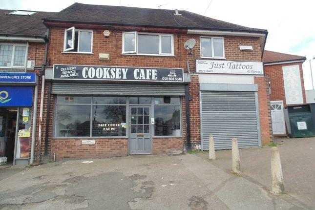 Thumbnail Restaurant/cafe for sale in Cooksey Lane, Birmingham
