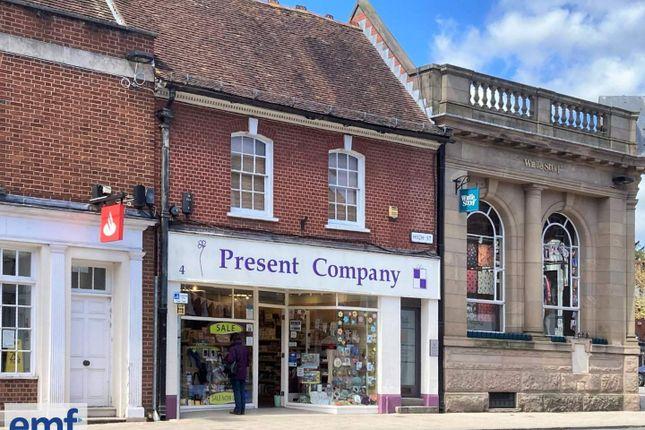 Retail premises to let in Wimborne, Dorset