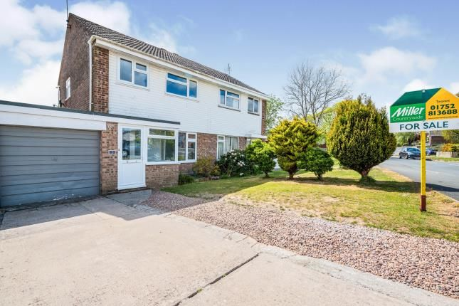 3 bed semi-detached house for sale in Torpoint, Cornwall, England PL11
