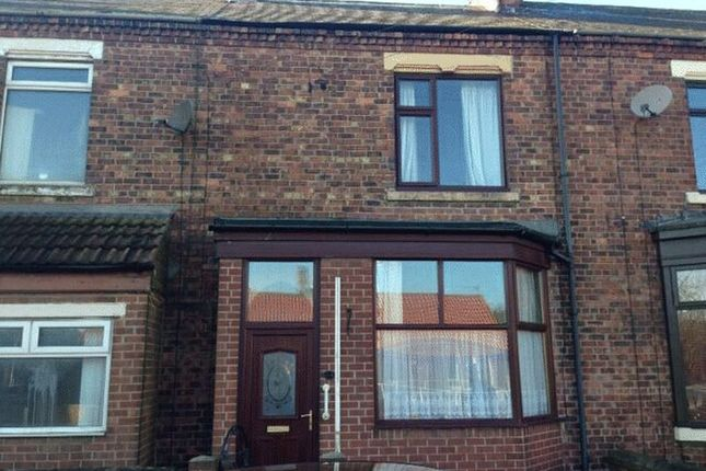 Thumbnail Terraced house to rent in North Road West, Wingate
