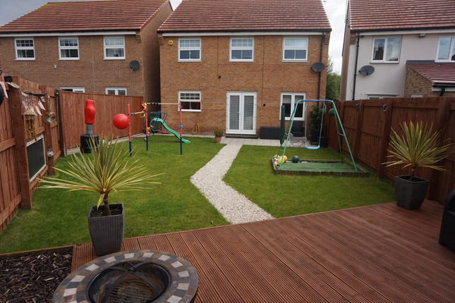 Thumbnail Detached house for sale in Tarset Walk, Blyth