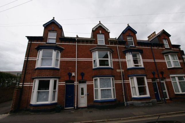 Thumbnail Terraced house to rent in Dinham Road, Exeter