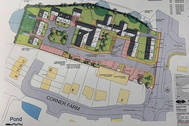 Thumbnail Land for sale in Luke Lane, Brailsford, Ashbourne
