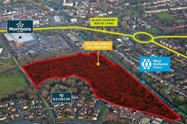 Thumbnail Land for sale in Bilston Urban Village East, Brook Street, Bilston, West Midlands