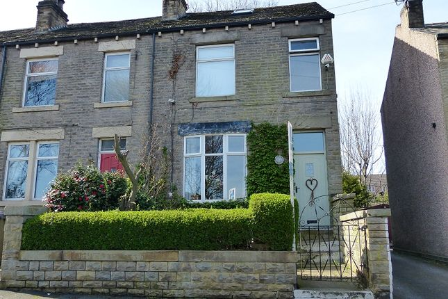 Thumbnail End terrace house for sale in Fair View, Liversedge, West Yorkshire.