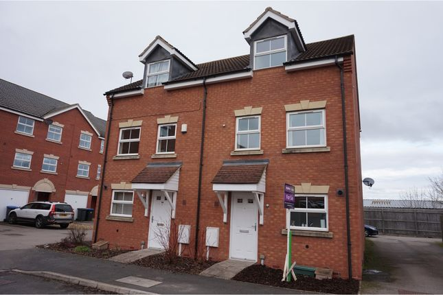 Thumbnail Semi-detached house for sale in Tungstone Way, Market Harborough