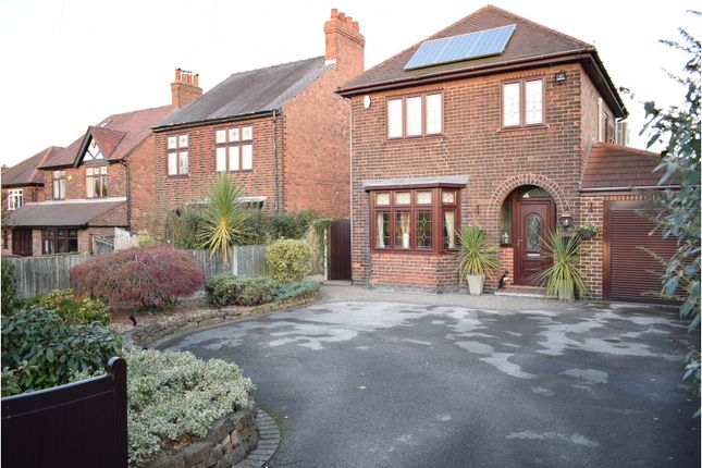 Thumbnail Detached house for sale in Church Lane, Cossall