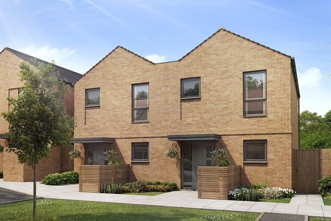 "Thumbnail Terraced house for sale in ""The Avedon"" at Harrow View, Harrow"