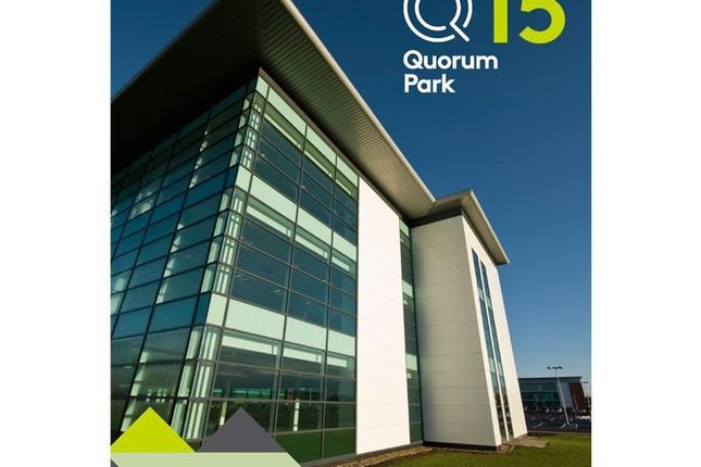 Thumbnail Office to let in Q15, Quorum Park, Benton Lane, Newcastle Upon Tyne, North East