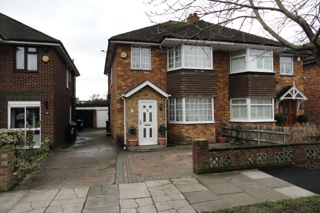 3 bed semi-detached house for sale in Newdene Avenue, Northolt