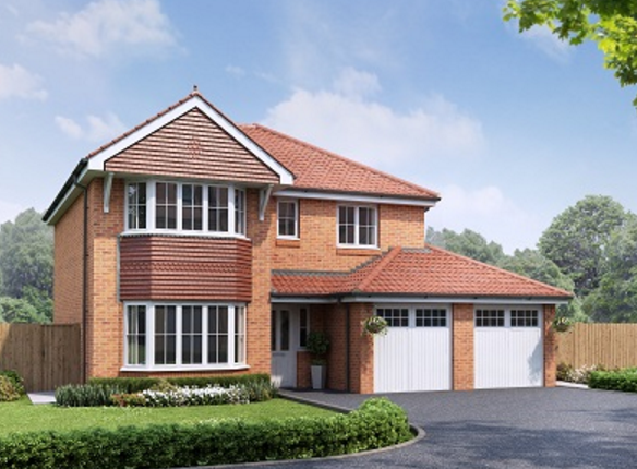 Thumbnail Detached house for sale in The Dolwen, Graham Avenue, Prestatyn, Denbighshire