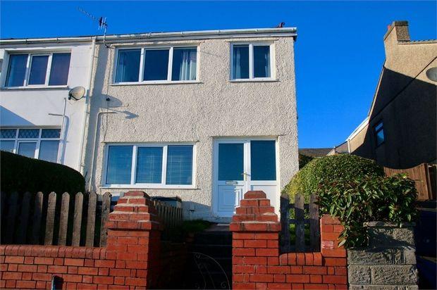 Thumbnail End terrace house for sale in Dinas Street, Plasmarl, Swansea